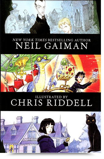 sk lamont Giveaway Neil Gaiman 3 Book Box Set